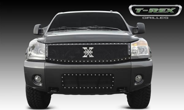 T-Rex - T-Rex X-Metal Grille, Black, Mild Steel, 1 Pc, Replacement 6717791