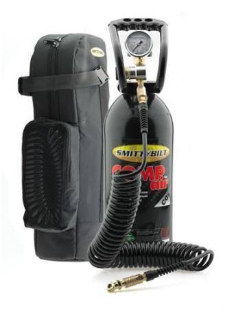 Smittybilt - Smittybilt Compact Air System 10Gal C02 Tank W/ Regulator And Fittings Smittybilt 2747