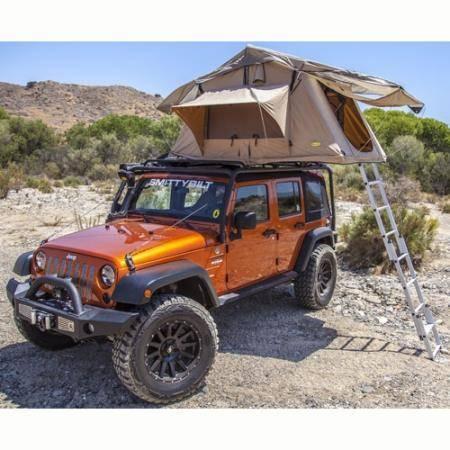 Smittybilt - Smittybilt Overlander Roof Tent 2 Person Tent Coyote Tan Smittybilt 2783