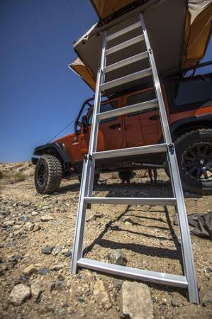 Smittybilt - Smittybilt Overlander Roof Tent Ladder Extension Smittybilt 2785