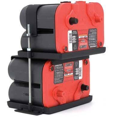 Smittybilt - Smittybilt Dual Battery Tray 97-06 Wrangler TJ/LJ Smittybilt 2800