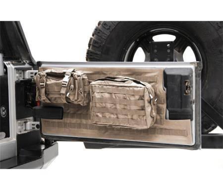 Smittybilt - Smittybilt Gear Tailgate Cover 97-06 Wrangler TJ/LJ Coyote Tan Smittybilt 5662224