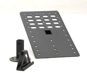 Smittybilt - Smittybilt I-Racking System Base Mounting Unit Black Smittybilt 2740-01