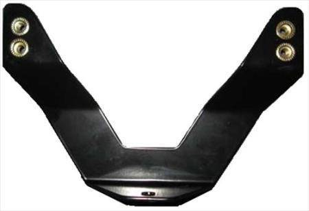 Smittybilt - Smittybilt License Plate Bracket For Grille Saver Smittybilt 4433