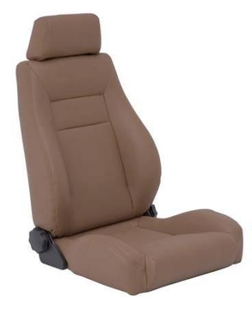 Smittybilt - Smittybilt Front Seat Contour Sport Bucket W/ Recliner 76-16 Wrangler CJ/YJ/TJ/LJ/JK Spice Denim Smittybilt 49517