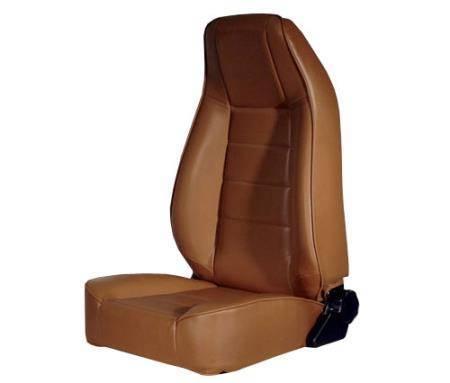 Smittybilt - Smittybilt Front Seat Factory Style Replacement W/ Recliner 76-16 Wrangler CJ/YJ/TJ/LJ/JK Denim spice Smittybilt 45017