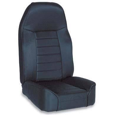 Smittybilt - Smittybilt Front Seat Standard Bucket 76-14 Wrangler CJ/YJ/TJ/LJ/JK Denim Black Smittybilt 44915