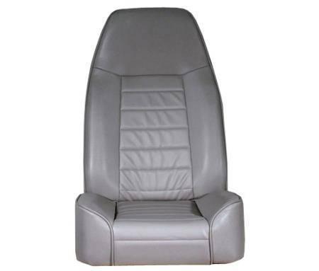 Smittybilt - Smittybilt Front Seat Standard Bucket 76-14 Wrangler CJ/YJ/TJ/LJ/JK Denim Gray Smittybilt 44911