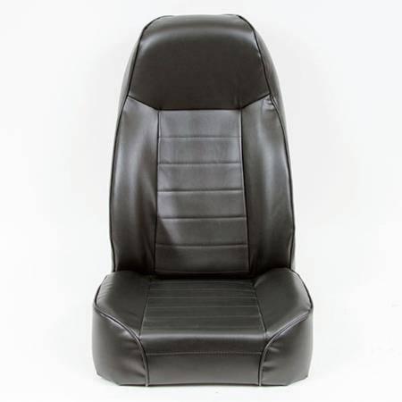 Smittybilt - Smittybilt Front Seat Standard Bucket 76-14 Wrangler CJ/YJ/TJ/LJ/JK Vinyl Black Smittybilt 44901