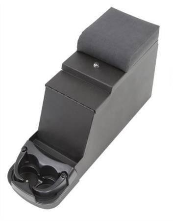 Smittybilt - Smittybilt Security Floor Console 76-95 Wrangler CJ/YJ Denim Gray Smittybilt 31711