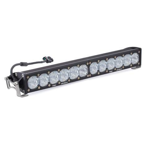 Baja Designs - Baja Designs 20 Inch LED Light Bar Single Straight Wide Driving Combo Pattern OnX6 Baja Designs 452004