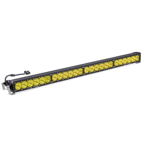 Baja Designs - Baja Designs 40 Inch LED Light Bar Amber Wide Driving Pattern OnX6 Series Baja Designs 454014