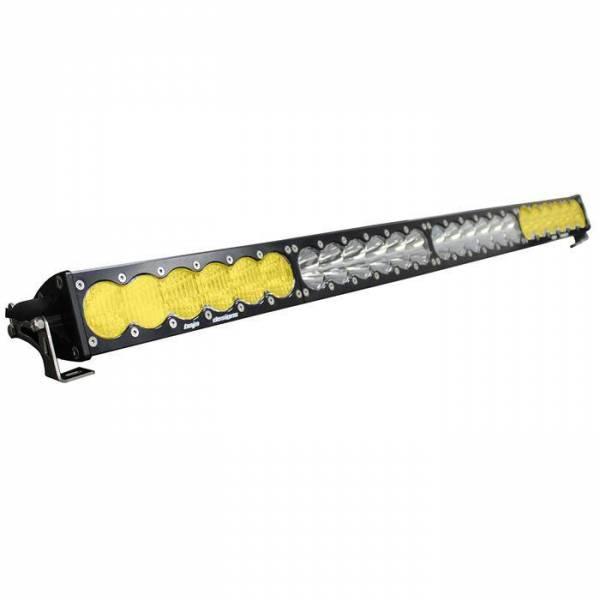 Baja Designs - Baja Designs 40 Inch LED Light Bar Amber/White Dual Control Pattern OnX6 Series Baja Designs 464014