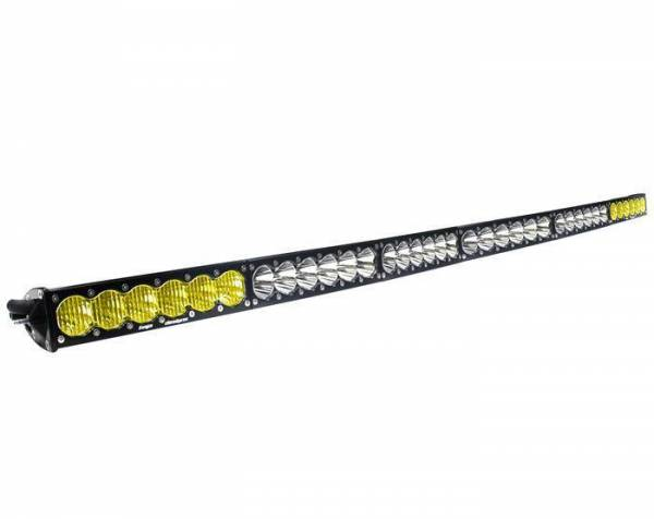 Baja Designs - Baja Designs 60 Inch LED Light Bar Amber/Wide Wide Dual Control Pattern OnX6 Series Baja Designs 526003DC
