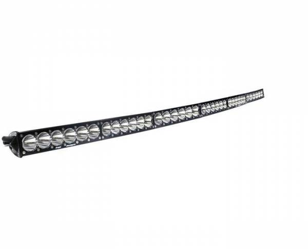 Baja Designs - Baja Designs 60 Inch LED Light Bar High Speed Spot Pattern OnX6 Arc Series Baja Designs 526001