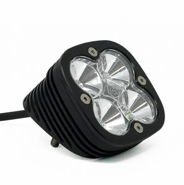 Baja Designs - Baja Designs Flush Mount LED Light Pod Angled Black Clear Lens Work/Scene Pattern Squadron Pro Baja Designs 492006