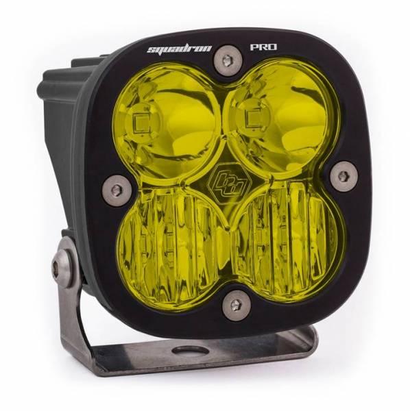 Baja Designs - Baja Designs LED Light Pod Black Amber Lens Driving/Combo Pattern Squadron Pro Baja Designs 490013