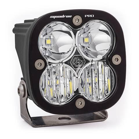 Baja Designs - Baja Designs LED Light Pod Black Clear Lens Driving/Combo Pattern Squadron Pro Baja Designs 490003
