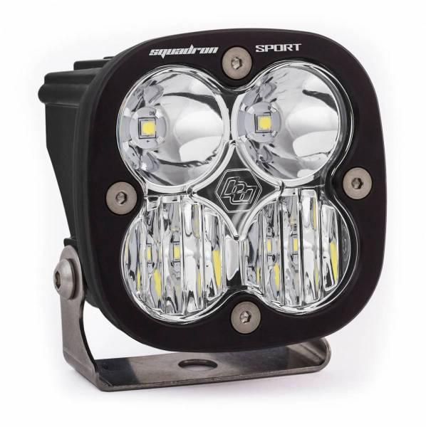 Baja Designs - Baja Designs LED Light Pod Driving/Combo Pattern Clear Black Squadron Sport Baja Designs 550003