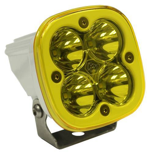 Baja Designs - Baja Designs LED Light Pod Spot Pattern Clear Amber White Squadron Sport Baja Designs 550011WT