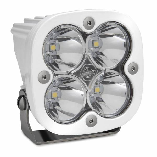 Baja Designs - Baja Designs LED Light Pod Spot Pattern Clear White Squadron Sport Baja Designs 550001WT