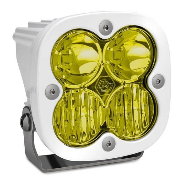 Baja Designs - Baja Designs LED Light Pod White Amber Lens Driving/Combo Pattern Squadron Pro Baja Designs 490013WT