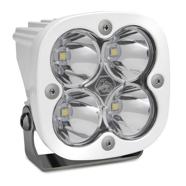 Baja Designs - Baja Designs LED Light Pod White Clear Lens Spot Pattern Squadron Pro Baja Designs 490001WT