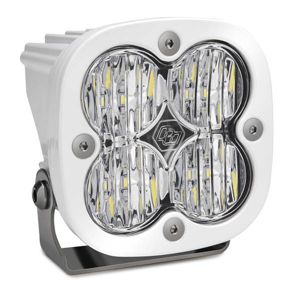 Baja Designs - Baja Designs LED Light Pod White Clear Lens Wide Cornering Pattern Squadron Pro Baja Designs 490005WT