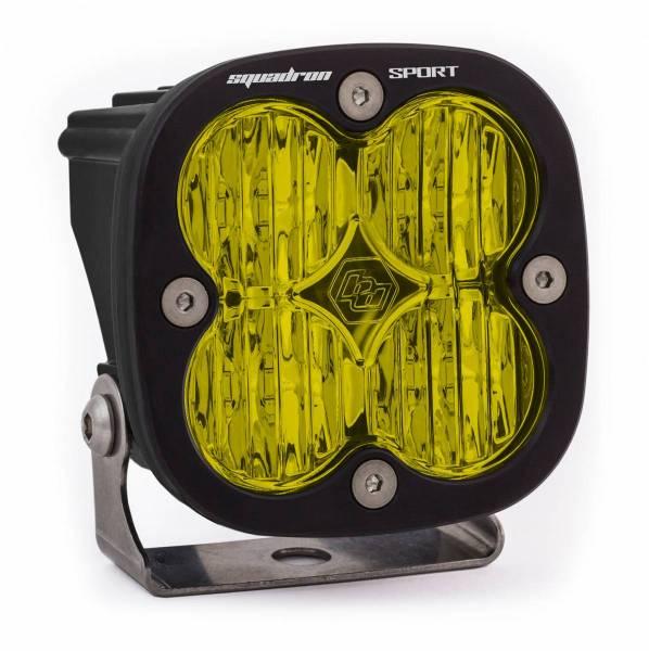 Baja Designs - Baja Designs LED Light Pod Wide Cornering Pattern Amber Black Squadron Sport Baja Designs 550015