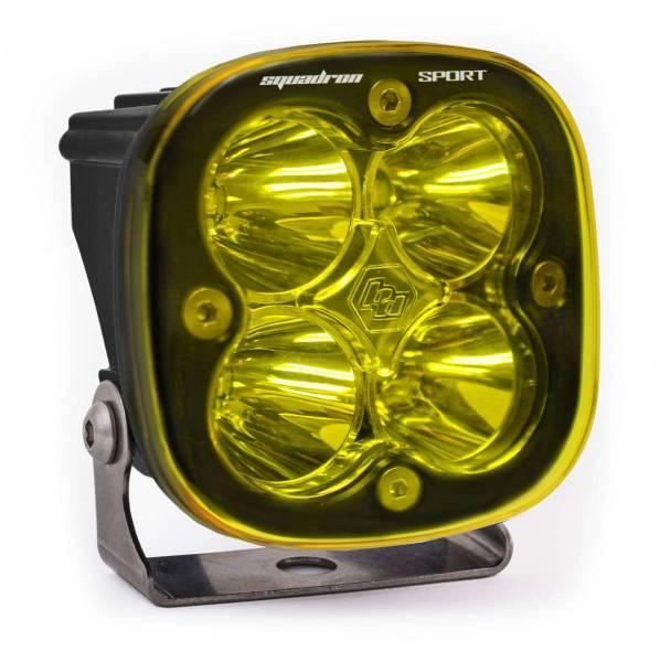 Baja Designs - Baja Designs LED Light Pod Work/Scene Pattern Amber Black Squadron Sport Baja Designs 550016