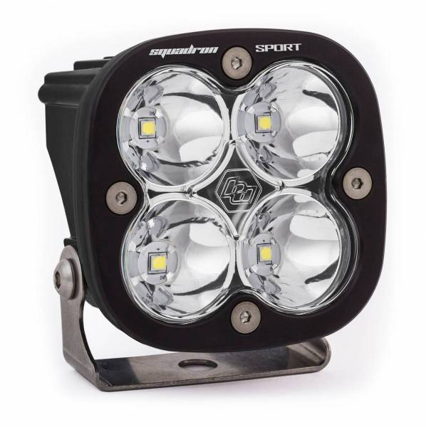 Baja Designs - Baja Designs LED Light Pod Work/Scene Pattern Clear Black Squadron Sport Baja Designs 550006