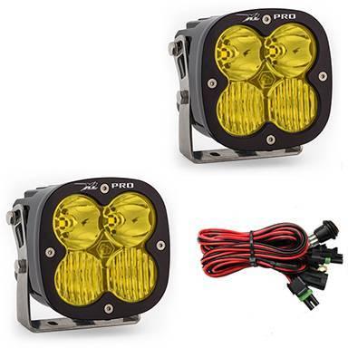 Baja Designs - Baja Designs LED Light Pods Amber Lens Driving Combo Pattern Pair XL Pro Series Baja Designs 507813