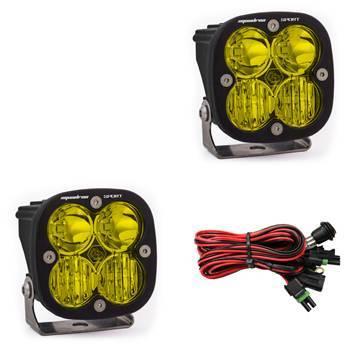 Baja Designs - Baja Designs LED Light Pods Amber Lens Driving/Combo Pair Squadron Sport Baja Designs 557813
