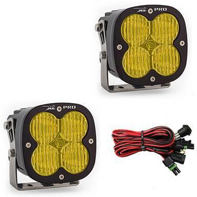 Baja Designs - Baja Designs LED Light Pods Amber Lens Wide Cornering Pattern Pair XL Pro Series Baja Designs 507815
