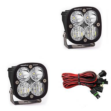Baja Designs - Baja Designs LED Light Pods Clear Lens Driving/Combo Pair Squadron Sport Baja Designs 557803