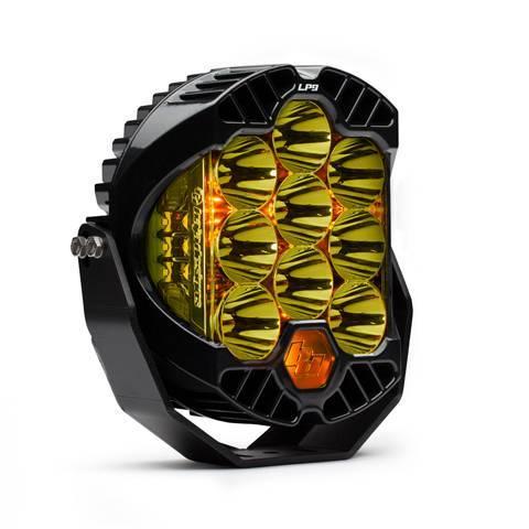 Baja Designs - Baja Designs LED Light Pods High Speed Spot Pattern Amber LP9 Racer Edition Series Baja Designs 330011
