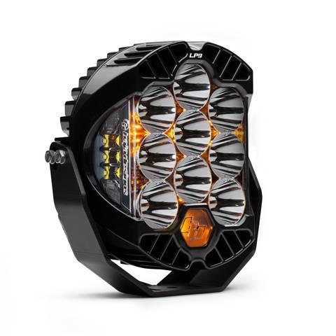 Baja Designs - Baja Designs LED Light Pods High Speed Spot Pattern Clear LP9 Series Baja Designs 320001