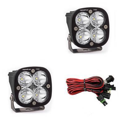 Baja Designs - Baja Designs LED Light Pods Spot Pattern Pair Squadron Pro Series Baja Designs 497801