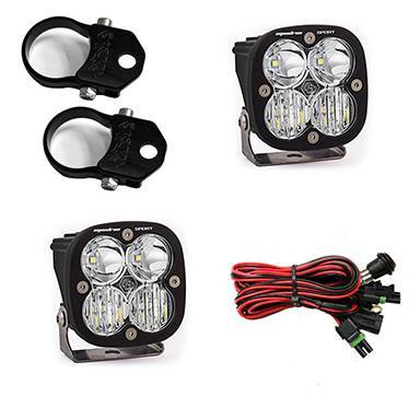 Baja Designs - Baja Designs Polaris LED Light Pods 1.75 Inch Harness Vertical Mounts Kit Squadron Sport Baja Designs 557107