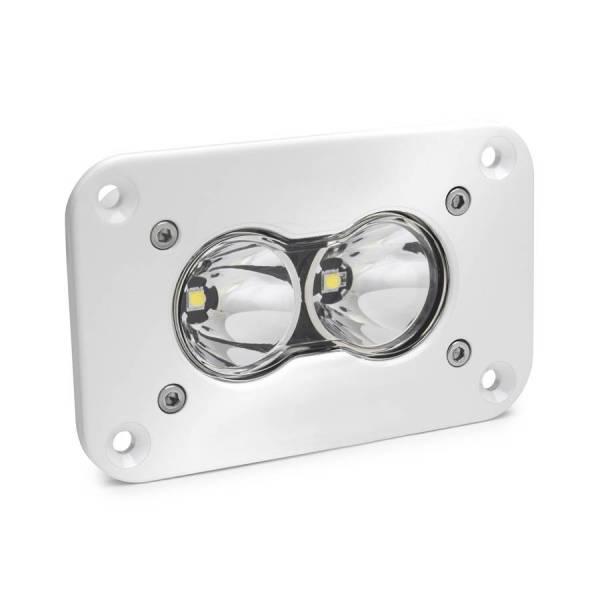 Baja Designs - Baja Designs S2 Pro LED Spot Flush Mount White Baja Designs 481001WT