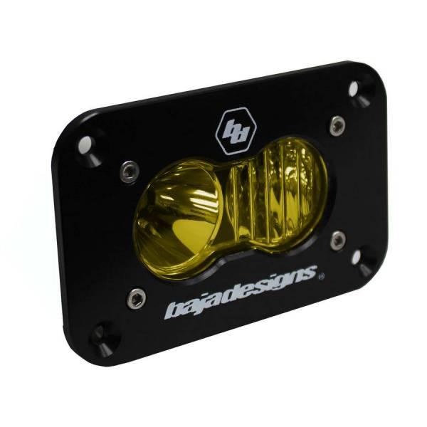 Baja Designs - Baja Designs S2 Sport LED Driving/Combo Amber Flush Mount Baja Designs 541013