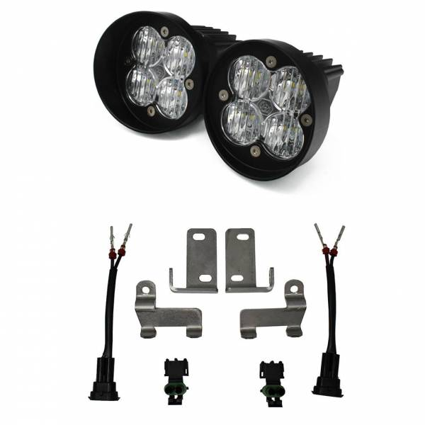 Baja Designs - Baja Designs Toyota LED Light Kit Clear Lens Tacoma/Tundra/4Runner Squadron Sport WC Baja Designs 447125