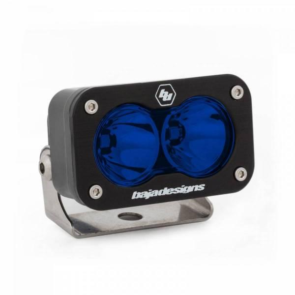 Baja Designs - Baja Designs LED Work Light Blue Lens Spot Pattern S2 Sport Baja Designs 540001BL