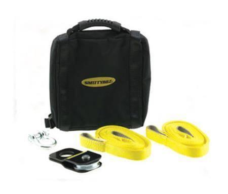 Smittybilt - Smittybilt Winch Accessory Kit ATV Includes Snatch Block  Pair Of Shackles  Pair Of Straps Smittybilt 2729