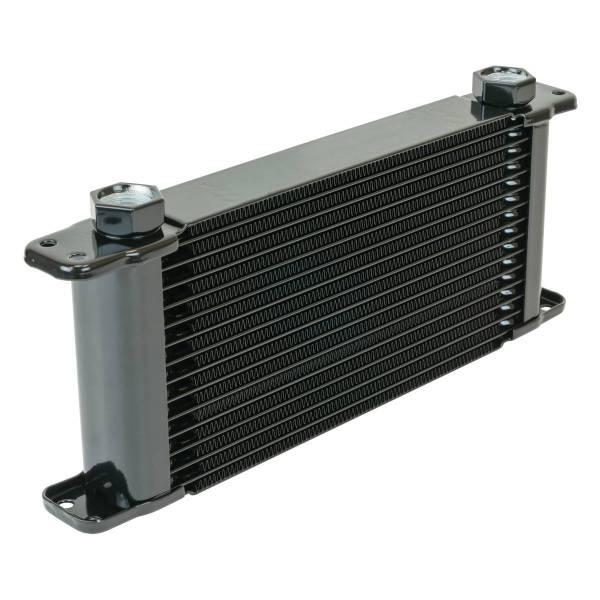 Flex-A-Lite - Flex-A-Lite ENGINE OIL COOLER, 11in X 5-3/4in X 1-1/2in, 17 ROW, 7/8-14 UNF FG 500017