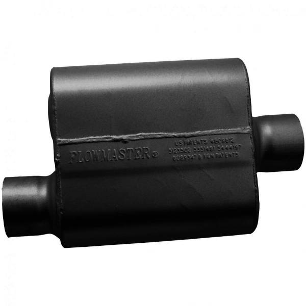 Flowmaster - Flowmaster 10 Series Race Muffler - 3.00 Offset In / 3.00 Center Out - Aggressive Sound 9430119