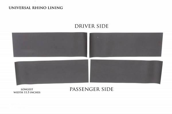 Lund - Lund RHINO LININGS ROCKER GUARDS-UN 5822200