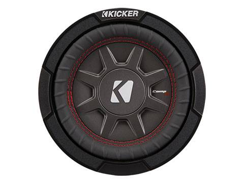"""Kicker - kicker 6 3/4"""" CompRT 1 Ohm"""
