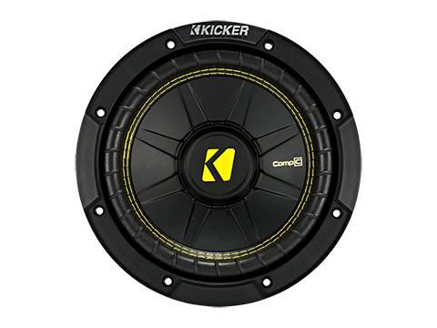 """Kicker - kicker 8"""" CompC 4 Ohm DVC"""