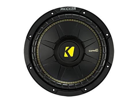 """Kicker - kicker 10"""" CompC 4 Ohm DVC"""